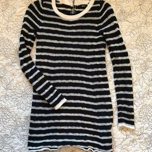 Urban Outfitters Striped Sweater Tunic